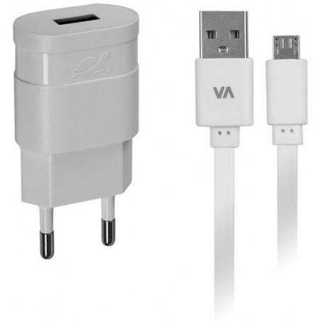 Chargeur Secteur Rivapower VA4111 WD1 EN (1 USB / 1 A)