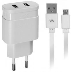 Chargeur Secteur Rivapower VA4123 WD1 EN (2 USB /3.4 A)
