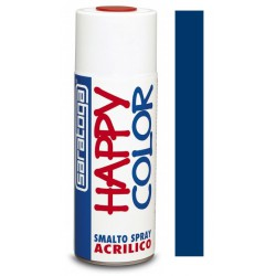 Peinture aérosol brillant Saratoga Happy Color / Bleu Gentiane