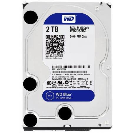 Disque Dur Interne Western Digital 2 To
