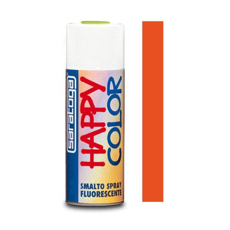 Peinture aérosol Fluorescent Saratoga Happy Color / Orange