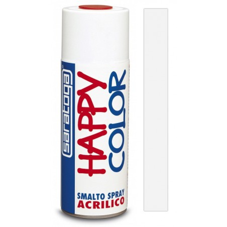 Peinture aérosol Acrylique Saratoga Happy Color / Blanc Electromenager