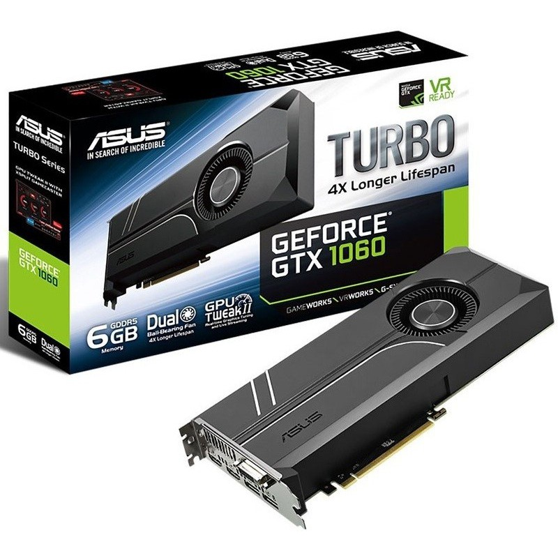 Carte graphique Asus GTX 1060 Turbo 6G