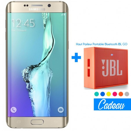 Téléphone Portable Samsung Galaxy S6 Edge Plus / Gold