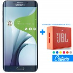 Téléphone Portable Samsung Galaxy S6 Edge Plus / Noir