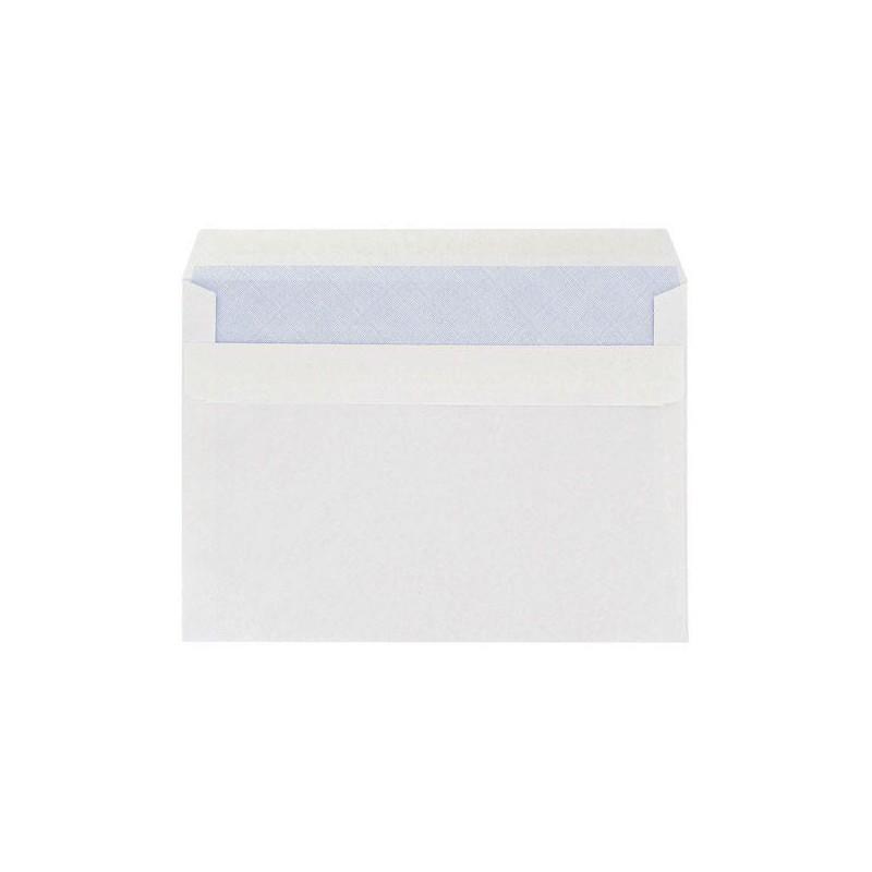 10x Enveloppes Blanc 162 x 229 mm