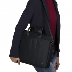 "Sacoche pour PC Portable Rivacase 15.6"" Noir"