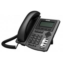 Téléphone IP D-Link avec 1Port 10/100Mbps PoE