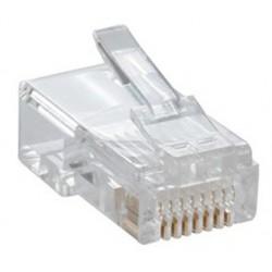 100x Connecteurs modulaires RJ-45 Cat6 FTP