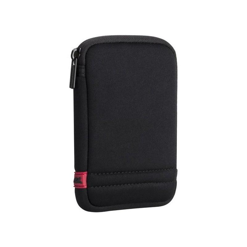"""Etui Rivacase pour disque dur 2,5"""" externe portable / Noir"""