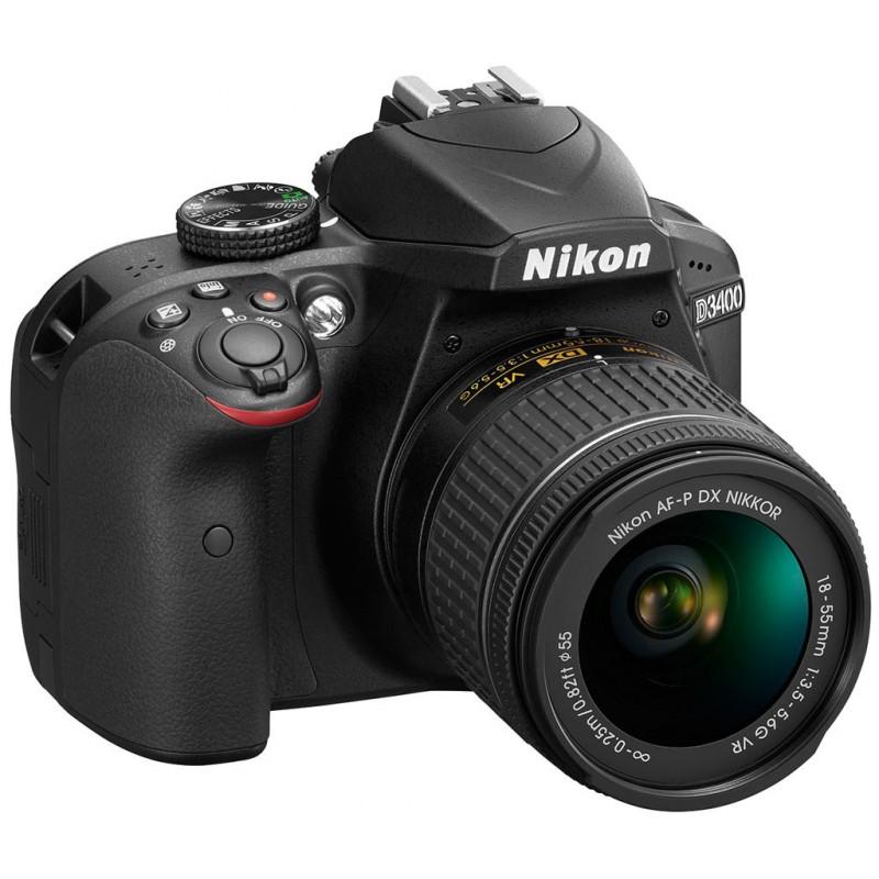 Réflex Numérique Nikon D3400 + AF-S Nikkor 18-55MM F3.5-5.6 ED VR