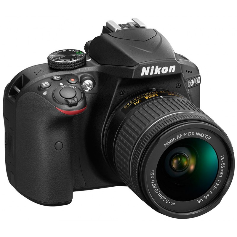 Réflex Numérique Nikon D3400 + AF-S Nikkor 18-140MM