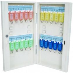 Boîte à clés en métal 20 crochets