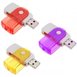 Lecteur de cartes USB Vert