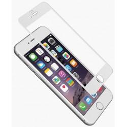 Protection Écran Cygnett AeroCurve Verre Trempé pour iPhone 6 / 6s / Blanc