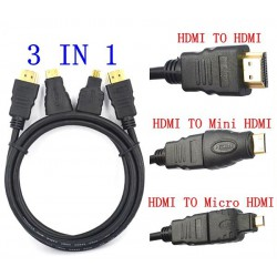 Câble HDMI Male/Male Forme L / 1.5M