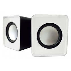 mini enceinte usb 5w aqprox blanc. Black Bedroom Furniture Sets. Home Design Ideas