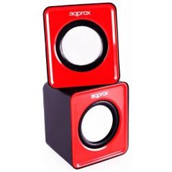 Mini Enceinte USB 5W aqprox / Rouge