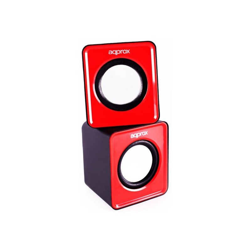 mini enceinte usb 5w aqprox rouge. Black Bedroom Furniture Sets. Home Design Ideas