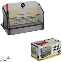 Porte cartes de visite ARK 1384 Noir
