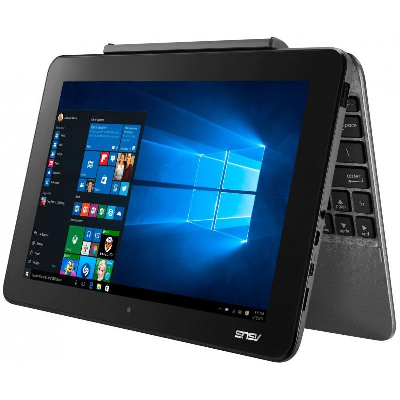 pc portable tablette asus transformer book t101ha gris