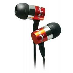 Ecouteur Cliptec METALICA MAX BME949 / Rouge
