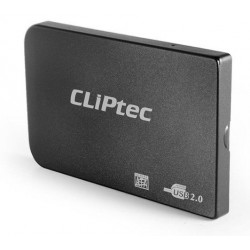 """Boitier Externe 2.5"""" USB 2.0 SATA HDD Cliptec RZE270 / Noir"""