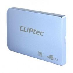 """Boitier Externe 2.5"""" USB 2.0 SATA HDD Cliptec RZE270 / Bleu"""