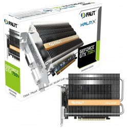 Carte graphique Palit GeForce GTX 750 Ti StormX OC / 2 Go GDDR5
