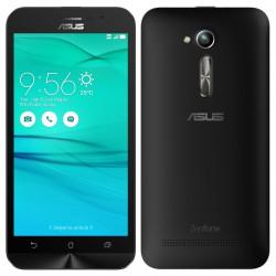 Téléphone Portable Asus ZenFone Go / 4G / Double SIM / Noir + SIM Offerte