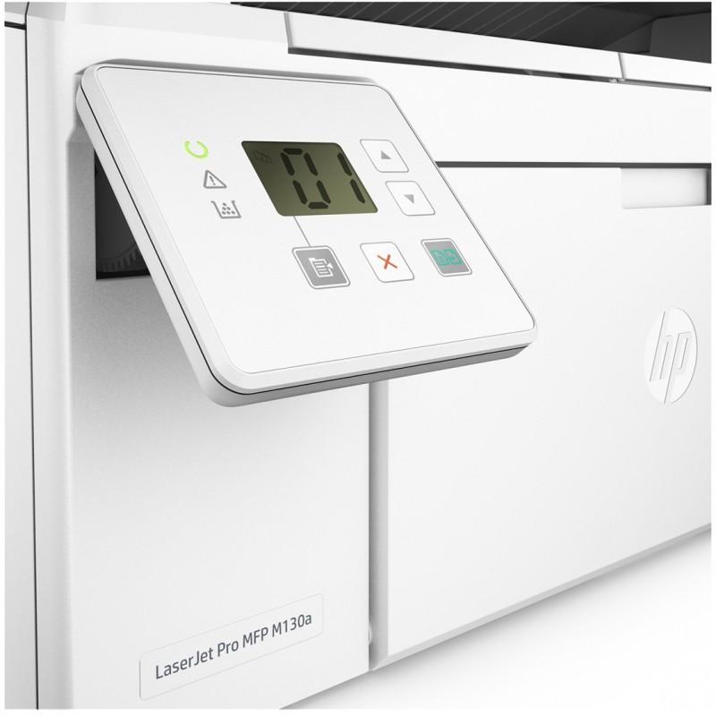 imprimante multifonction laser noir blanc hp laserjet pro m130a. Black Bedroom Furniture Sets. Home Design Ideas