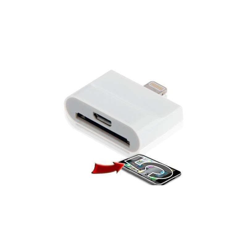 adaptateur micro usb et iphone 4 vers lightning. Black Bedroom Furniture Sets. Home Design Ideas