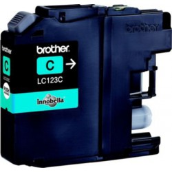 Cartouche adaptable Brother LC123 Cyan