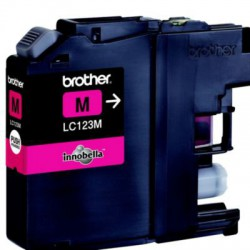 Cartouche adaptable Brother LC123 Magenta