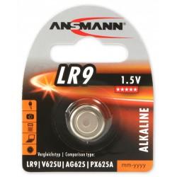 Pile Bouton Ansmann Alcaline LR9 / 1.5V