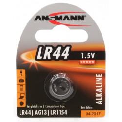 Pile Bouton Ansmann Alcaline LR44 / 1.5V