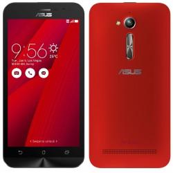 Téléphone Portable Asus ZenFone Go / 4G / Double SIM / Rouge + SIM Offerte
