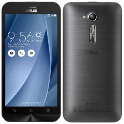 Téléphone Portable Asus ZenFone Go / 4G / Double SIM / Silver + SIM Offerte