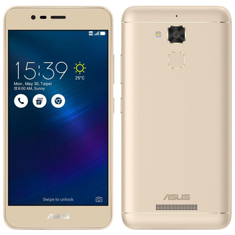 Telephone Portable Asus ZenFone 3 Max 4G Double SIM Gold Offerte