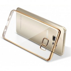 Etui Silicone Silver + Film de Protection Anti-Choc Pour Galaxy S7