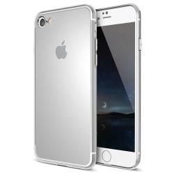 Etui Silicone Noir + Film de Protection Pour iPhone 7