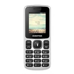 Téléphone Portable Evertek Light Mini / Double SIM / Noir & Rouge