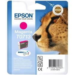Cartouche Epson T0713 Série Guepard / Magenta