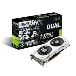 Carte graphique Asus Nvidia GTX 1070 Dual / 8GB