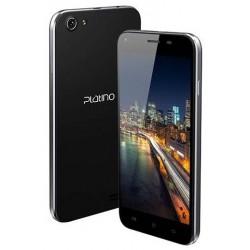 Téléphone Portable Platino Xyris / Double SIM / Noir + SIM Offerte + Carte mémoire 16Go