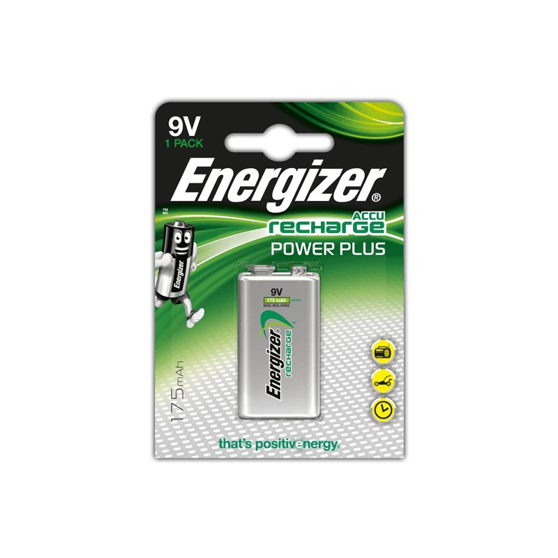 Pile rechargeable energizer recharge power plus 9v - Pile 9v rechargeable ...