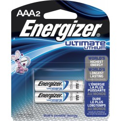 2x Piles Energizer Ultimate Lithium AAA