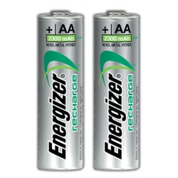 2x Piles Energizer Recharge Extreme AA