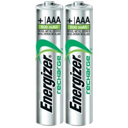 2x Piles Energizer Recharge Extreme AAA