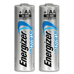 2x Piles Energizer Ultimate Lithium AA